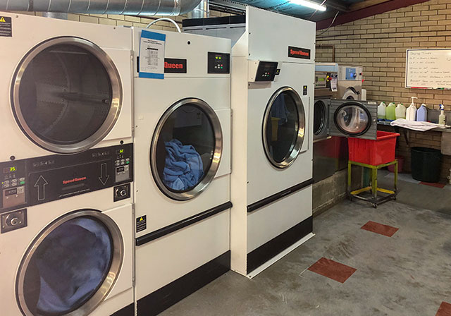 Commercial/Industrial laundry design, supply & service