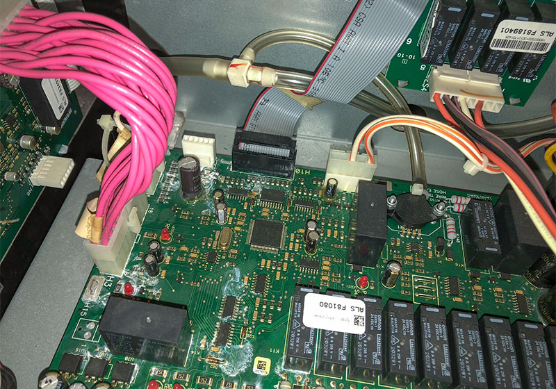 Digital industrial control board repair